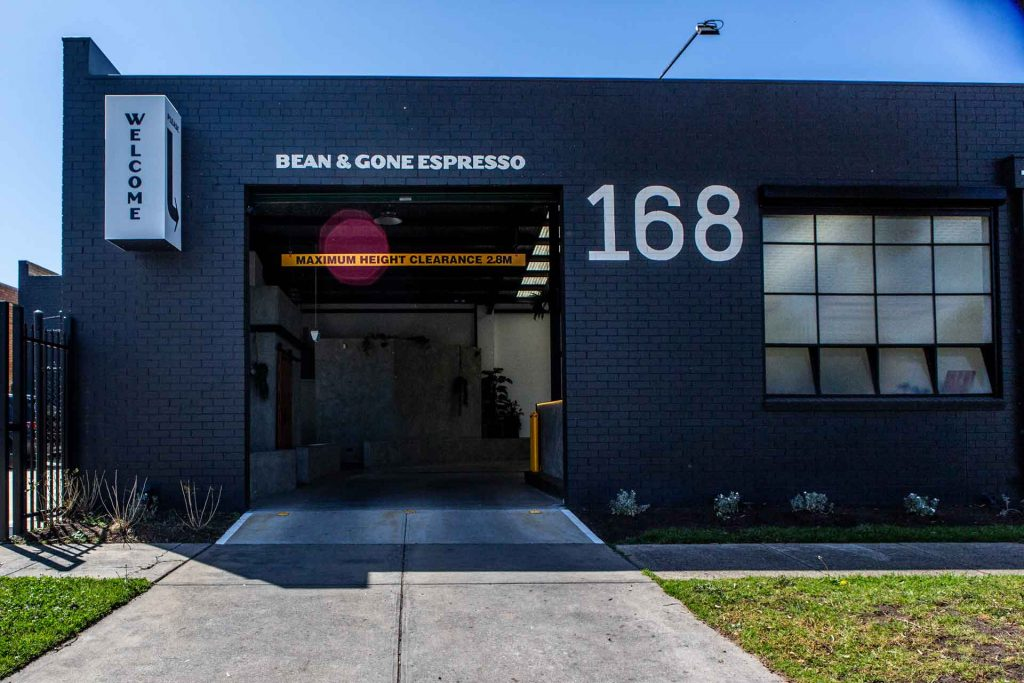 Bean-and-gone-thomastown-drive-through-entry